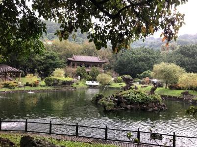 Palace gardens Taipei